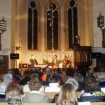 Liedermachertrio gastierte in der sehr gut besuchten Frankenheimer Kirche