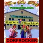 Dorfrocker kommen am 29.1.11 nach Frankenheim