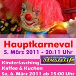Der Karneval steht vor der Tür: 5./6. März