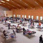 100 Verkäufer beim 2. Babybasar in der Höchrhönhalle