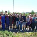 Schüler bei Umwelttag in Frankenheim aktiv!
