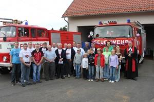 Neu angeschafftes Löschfahrzeug in Dienst genommen – Kameradschaftsnachmittag der Freiw. Feuerwehr Frankenheim