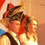 Prinzessin Diana und Prinz Falk übernehmen Zepter der Frankenheimer Narren
