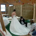 1. Brautmodenbasar in der Hochrhönhalle
