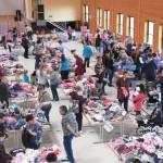 Der 4. Babybasar fand am 17. März in der Hochrhönhalle statt