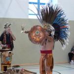 Indianer besuchen Frankenheimer Grundschule