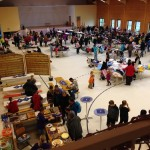 120 Verkäufer beim 7. Kinder- & Babybasar in der Hochrhönhalle
