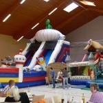 Hüpfburgen und mehr beim 4. Kinderfest in der Hochrhönhalle