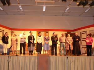 Aber, aber Herr Pfarrer – Theatergruppe Fladungen gastierte in der Hochrhönhalle