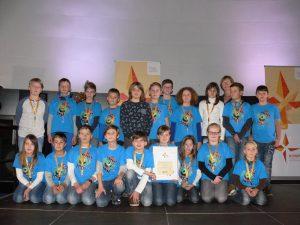 """Grundschule Frankenheim mit """"KOMPASS SILBER"""" ausgezeichnet"""