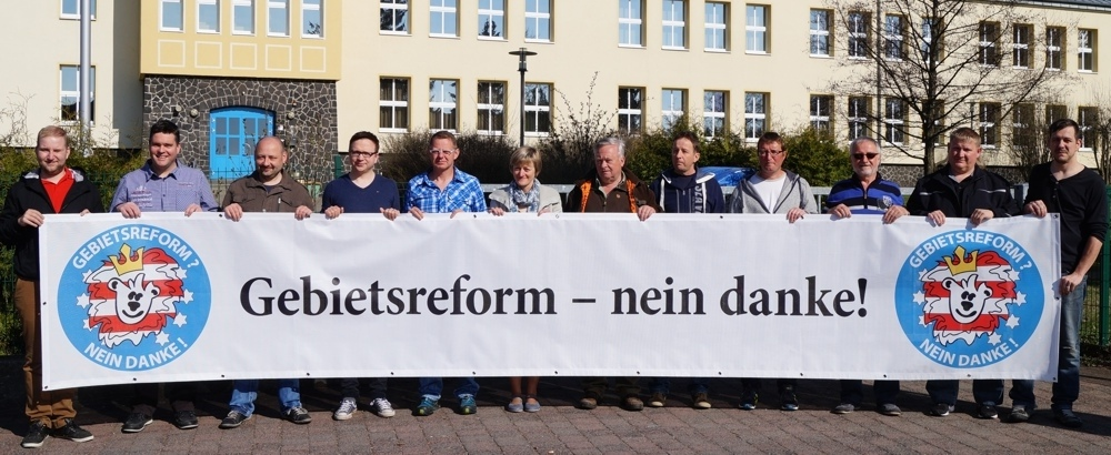 Gebietsreform – nein, danke! Infoveranstaltung am 21.04.2017 in der Hochrhönhalle