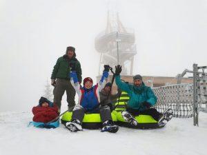 Öffnungszeiten der Gaudirutsche – sofern es die Schneelage zulässt