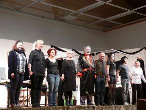 Theater in der Hochrhönhalle – die Theatergruppe Fladungen war zu Gast