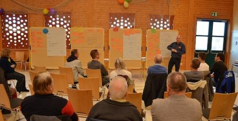 Projektwerkstatt konkretisiert erste Zukunftsprojekte für das Gemeindeentwicklungskonzept