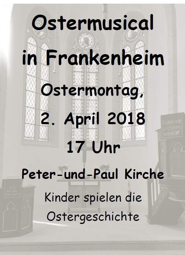 Ostermusical in der Kirche