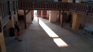 Leere Kirche in Frankenheim