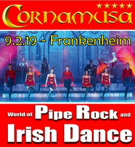 Cornamusa gastieren in Frankenheim | Pipe Rock and Irish Dance | 09.02.19 | Hochrhönhalle