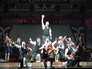 Cornamusa rockten die Hochrhönhalle