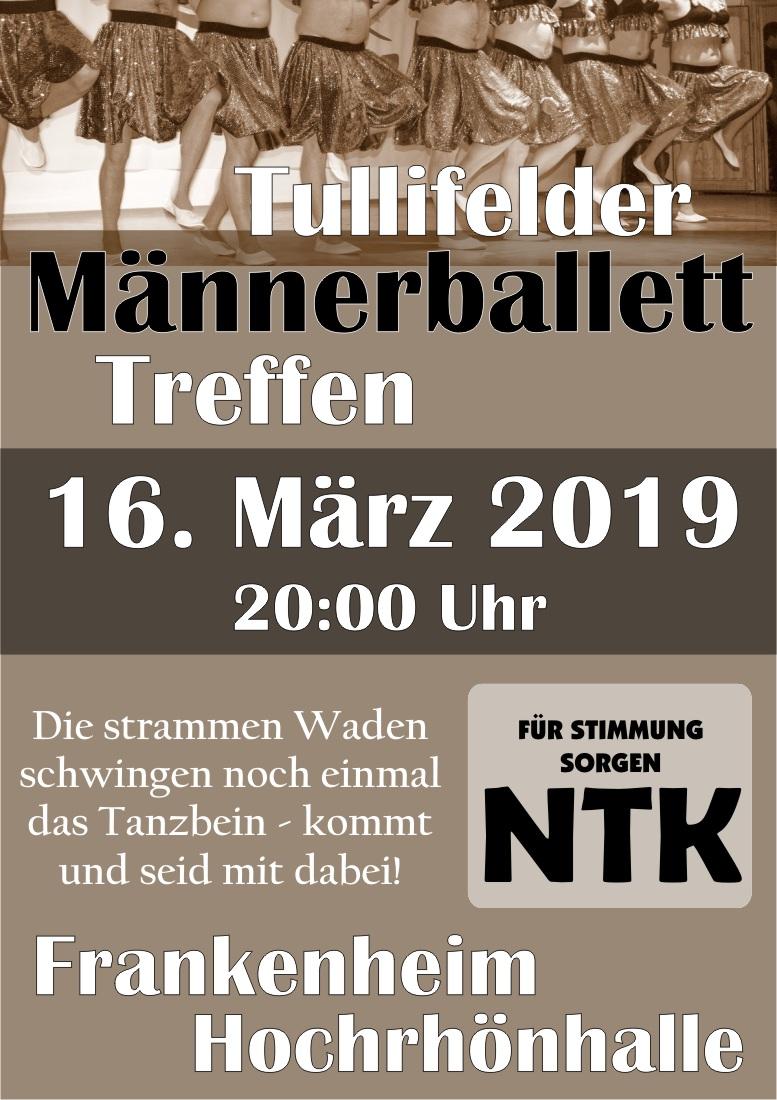 Tullifelder Männerballetttreffen am 16.03.2019 in Frankenheim
