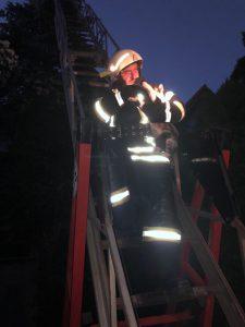 Feuerwehr Frankenheim – Rettung aus 12 m Höhe