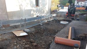 """Kanal- und Straßenbau """"Untere Ecke"""" schreitet voran"""