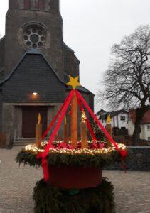 """Adventskalender """"für Groß und Klein"""" in der Kirche Frankenheim"""