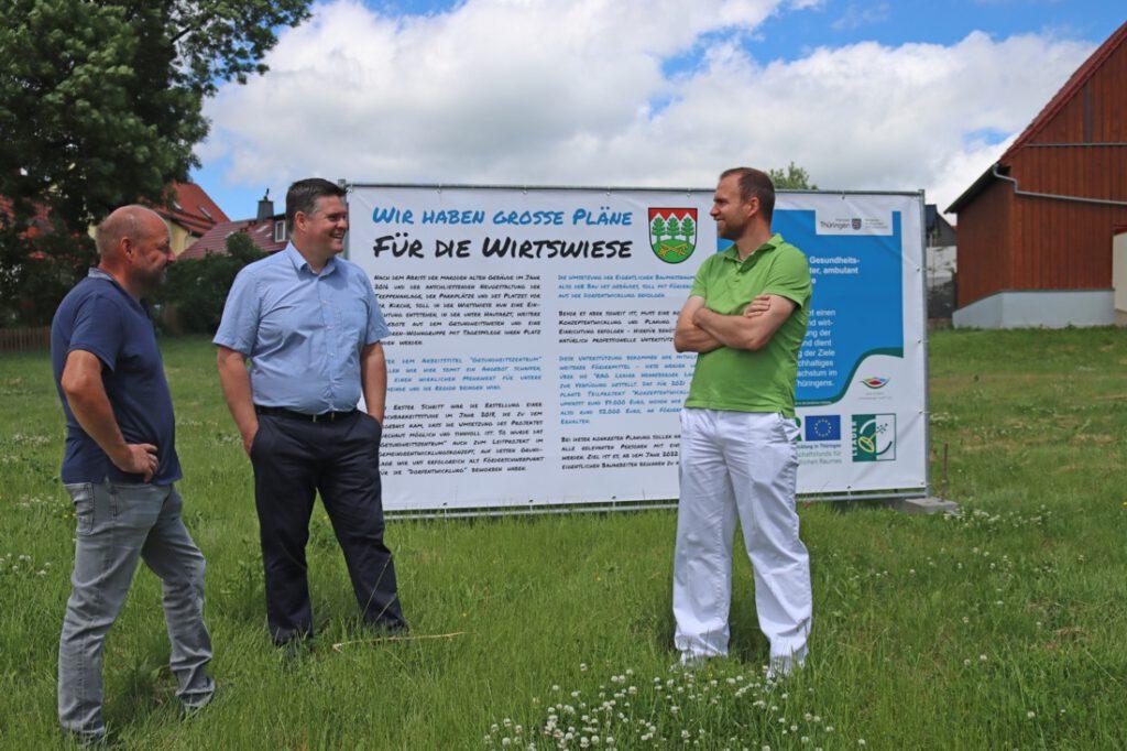 Wir haben große Pläne für die Wirtswiese – Gesundheitszentrum geplant