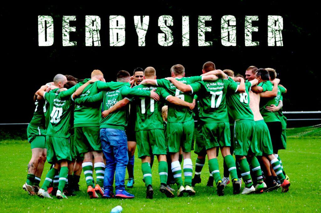 2:1 – SV Hohe Rhön Sieger im Derby gegen Oberweid